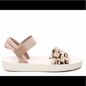 Clarks Seanna Sun Sport Sandal White Blush Floral